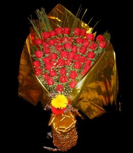 cod 110 - Ramo grande de rosas rojas importadas, consultar