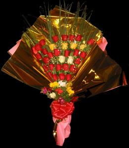 cod 117 - Ramo con 32 rosas
